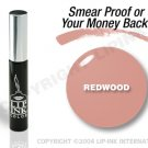 LIP INK Redwood Smearproof Lip Stain + Off & Shine Towelettes