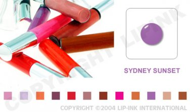 LIP INK Sydney Sunset Smearproof Lip Stain LipGel + Off & Shine Towelettes