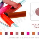 LIP INK Hollywood Diamond Smearproof Lip Stain LipGel + Off & Shine Towelettes