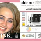 LIP INK Akiane Primary Lip Stain Kit