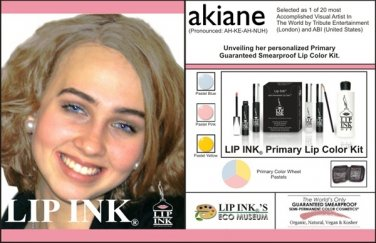 LIP INK Akiane Primary Lip Stain Kit