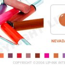 LIP INK Nevada Gold Smearproof Lip Stain LipGel + Off & Shine Towelettes
