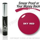 LIP INK Sky Red Smearproof Lip Stain + Off & Shine Towelettes
