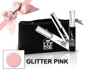 LIP INK Glitter Pink Lip Stain Kit