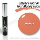LIP INK Orange Smearproof Lip Stain + Off & Shine Towelettes