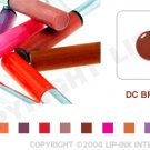 LIP INK DC Brown Smearproof Lip Stain LipGel + Off & Shine Towelettes