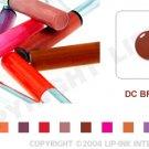 LIP INK DC Brown Smearproof Lip Stain LipGel + Off & Shine Towelettes