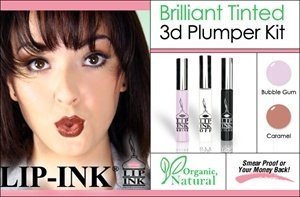LIP INK Brilliant Tinted 3D Lip Plumper Kit