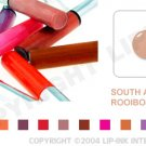 LIP INK South African Rooibos Smearproof Lip Stain + Off & Shine Towelettes
