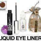 Lip Ink Semi-Perm Waterproof Liquid Eyeliner - BROWN