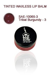 Lip Ink Tinted Waxless Lip Balm - Tribal Burgundy - 3