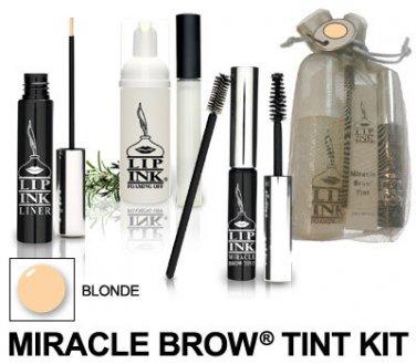 Lip Ink ® Blonde Miracle Brow Tint/Liner Kit