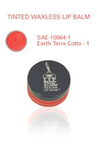 Lip Ink Tinted Waxless Lip Balm - Earth Terra Cotta - 1