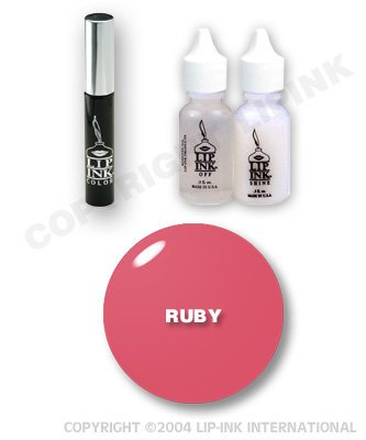 Lip Ink Special Ed Lipstick Kit Reds/Plum-Ruby