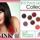 Lip Ink Lot Tinted Waxless Lip Balm (Set of 10)