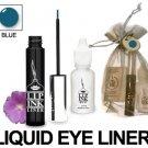 Lip Ink Semi-Perm Waterproof Blue Liquid Eyeliner NIB