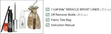 Lip Ink ® Semipermanente Delineador Cejas Auburn Caoba