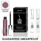 LIP INK Natural Smearproof Chicago Midnight Lip Stain LipGel Kit + Off & Shine
