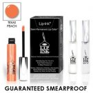LIP INK Natural Vegan Smearproof Texas Peach Lip Stain LipGel Kit + Off & Shine