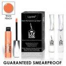 LIP INK Natural Vegan Smearproof Texas Peach Lip Stain LipGel Kit + Off & Shine
