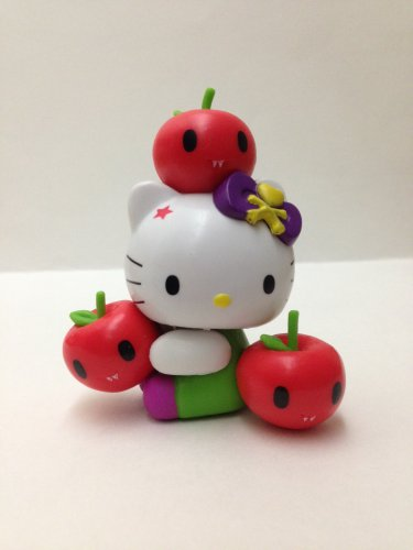 7-11 HK Sanrio Hello Kitty Tokidoki Wonderland Figurine Apple Kitty