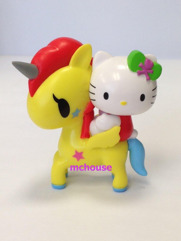 7-11 HK Sanrio Hello Kitty Tokidoki Wonderland Figurine Unicorn Kitty