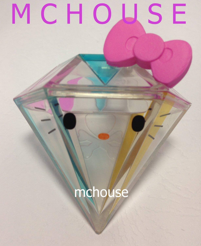 7-11 HK Sanrio Hello Kitty Tokidoki Wonderland Figurine Diamond Kitty