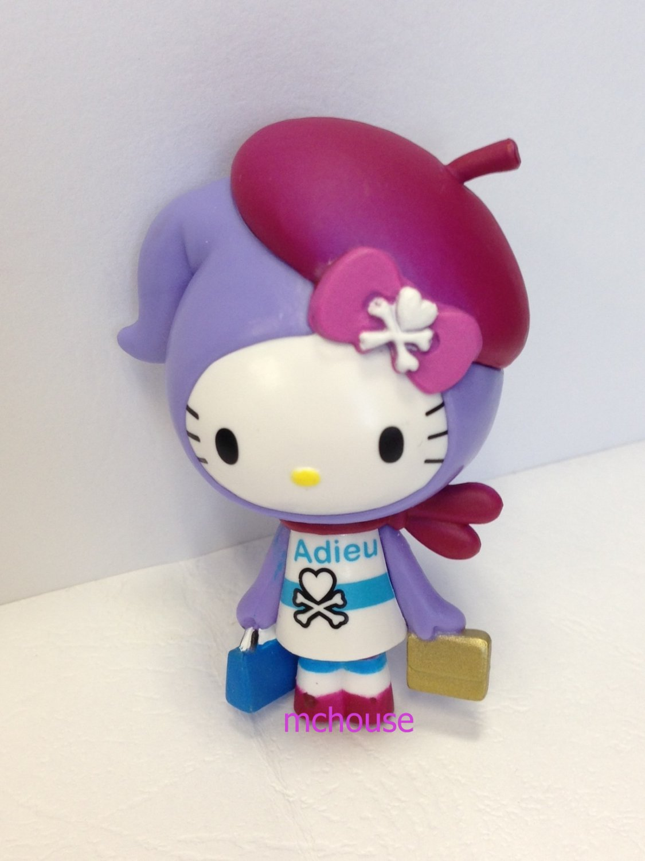 7-11 HK Sanrio Hello Kitty Tokidoki Wonderland Figurine Adieu Kitty