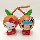 7-11 HK Sanrio Hello Kitty Tokidoki Wonderland Figurine New Year Tangerine Kitty