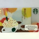 Starbucks Coffee Hong Kong Happy Birthday Gift Card