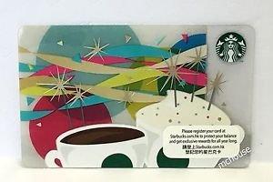 Starbucks Coffee Hong Kong Sparkling Candles Gift Card