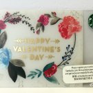Starbucks Coffee Hong Kong Happy Valentine's Day Gift Card