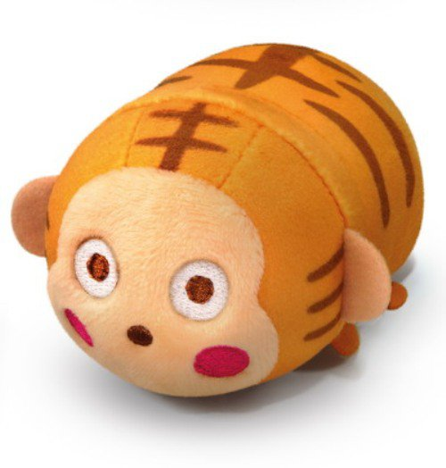 7-11 HK Sanrio Hello Kitty & Friends Animal Carnival Plush Strap Doll Monkichi