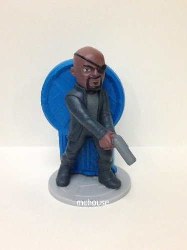 7-11 HK Marvel Avengers Heros Age of Ultron Figurines - Nick Fury