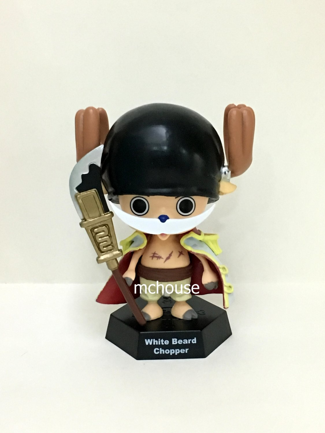7-11 HK One Piece 2016 Chopper World Figures White Beard Chopper