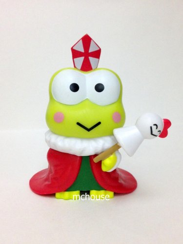 7-11 HK Sanrio 40th Anniversary Hello Kitty & Friends Hello Party Figurine Keroppi