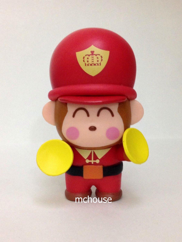 7-11 HK Sanrio 40th Anniversary Hello Kitty & Friends Hello Party Figurine Monkichi