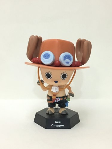 7-11 HK One Piece 2016 Chopper World Figures Ace Chopper