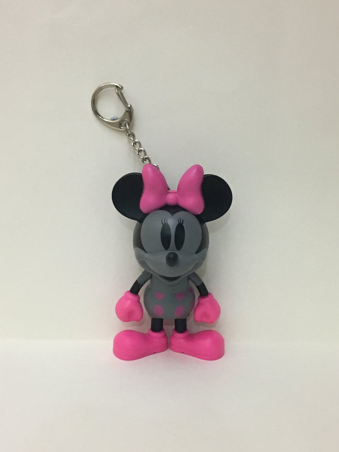 7-11 HK Disney 90th Mickey Mouse and Friends Black Minnie Keychain