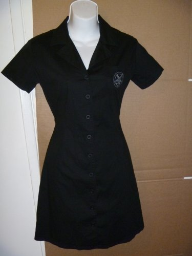 CRADLE OF FILTH TAROT WORK DRESS Sz S...EUC