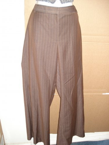 APOSTROPHE BROWN PANTS Sz 16 EUC