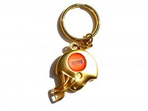 Cleveland Browns Helmet Keychain