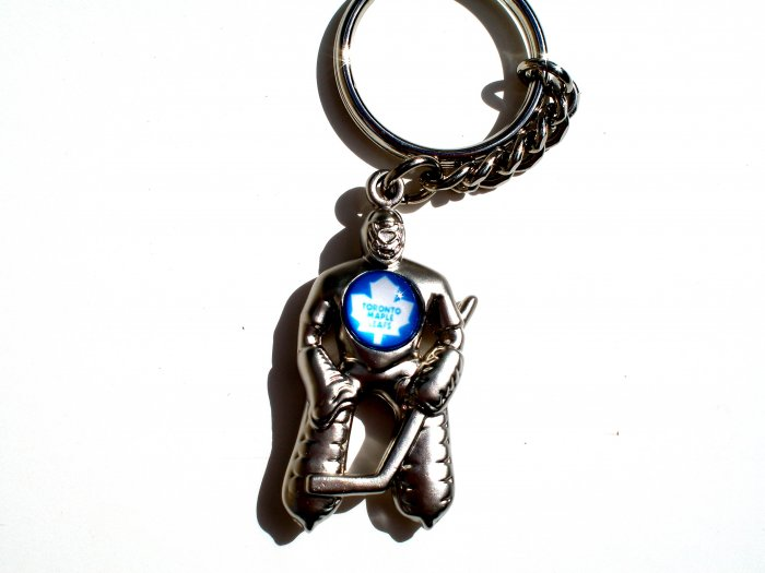 Toronto Maple Leafs Goalie Keychain