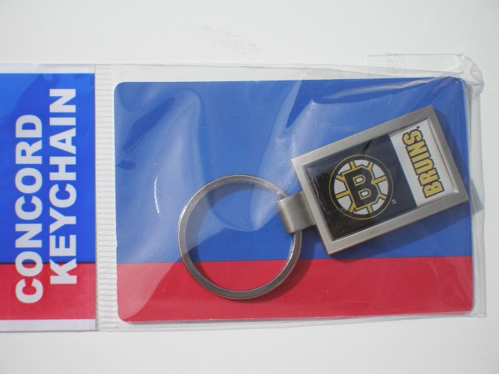 Boston Bruins Curved Keychain