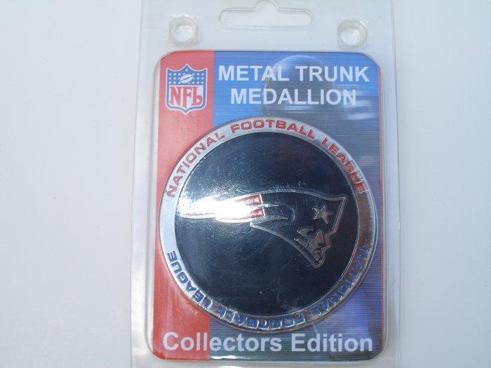 New England Patriots Metal Trunk Medallion