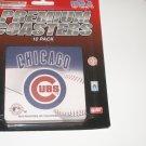 Chicago Cubs Premium Paperboard Coaster Set