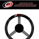 Carolina Hurricanes Mesh/Poly-suede Steering Wheel Cover