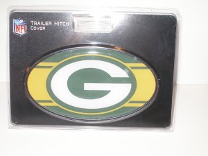 Green Bay Packers Plastic Trailer Hitch Cover