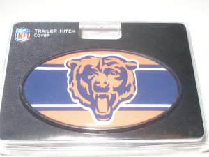 Chicago Bears Plastic Trailer Hitch Cover