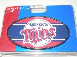Minnesota Twins Plastic Trailer Hitch Cover